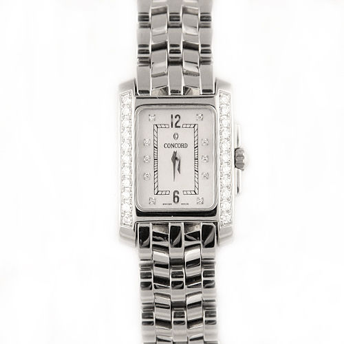 """Image of """"Concord Sportivo Stainless Steel with Mother of Pearl Dial 21.7mm"""""""