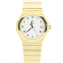Concord Mariner SG 500 18K Yellow Gold / Stainless Steel with White Dial 40mm Mens Watch