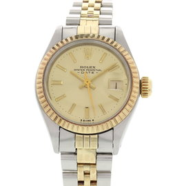 Rolex Date 6917 18K Yellow Gold & Stainless Steel 26mm Watch