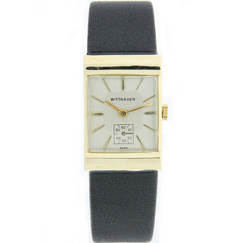 "Image of ""Wittnauer 14K Yellow Gold Vintage 32mm Mens Watch"""