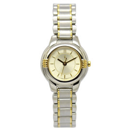 Yves Saint Laurent 5930-F91474TA Stainless Steel & Gold Plated 22.5mm Womens Watch