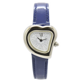 Yves Saint Laurent Stainless Steel & Leather 24.5mm Womens Watch