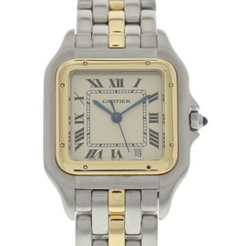 Cartier Panthere 183949 18K Yellow Gold & Stainless Steel 28mm Watch