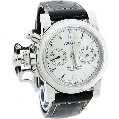 "Image of ""Graham Chronofighter Stainless Steel 42.5mm Mens Watch"""