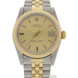 Rolex Datejust 68273 18K Yellow Gold & Stainless Steel 31mm Womens Watch