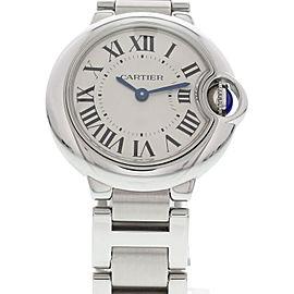 Cartier Ballon Bleu 3009 Stainless Steel 29mm Womens Watch