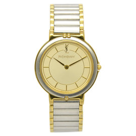 Yves Saint Laurent 4620-E62267Y Stainless Steel / Gold Plated 29.5mm Unisex Watch
