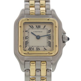 Cartier Panthere 166921 18K Yellow Gold & Stainless Steel 23 mm Womens Watch