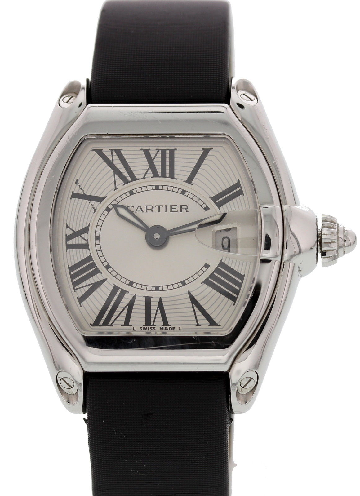 """Image of """"Cartier Roadster 2675 Stainless Steel 31 mm Womens Watch"""""""