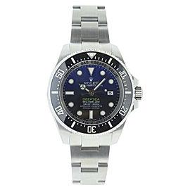 Rolex Sea Dweller 116660 Stainless Steel Deep Sea Blue Dial 44mm Watch