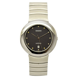 Rado Dia Star Stainless Steel 33mm Mens Watch