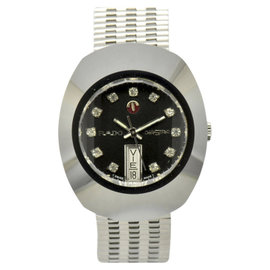 Rado Dia Star Stainless & Tungsten 35mm Mens Watch