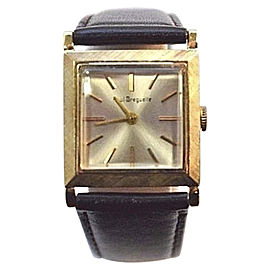 Paul Breguette 14K Gold 26mm Womens Vintage Wristwatch