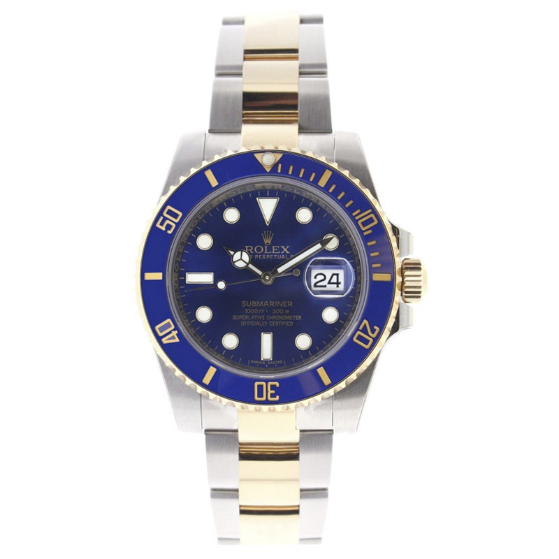 """Image of """"Rolex Submariner 116613 Stainless Steel & 18K Gold Blue Dial & Ceramic"""""""