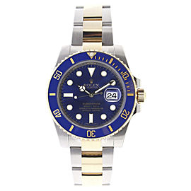 Rolex Submariner 116613 Stainless Steel & 18K Gold Blue Dial & Ceramic Bezel Automatic 40mm Mens Watch