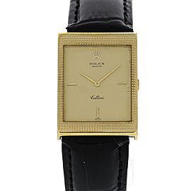 Vintage Rolex Cellini 18K Yellow Gold 24mm x 32mm Watch