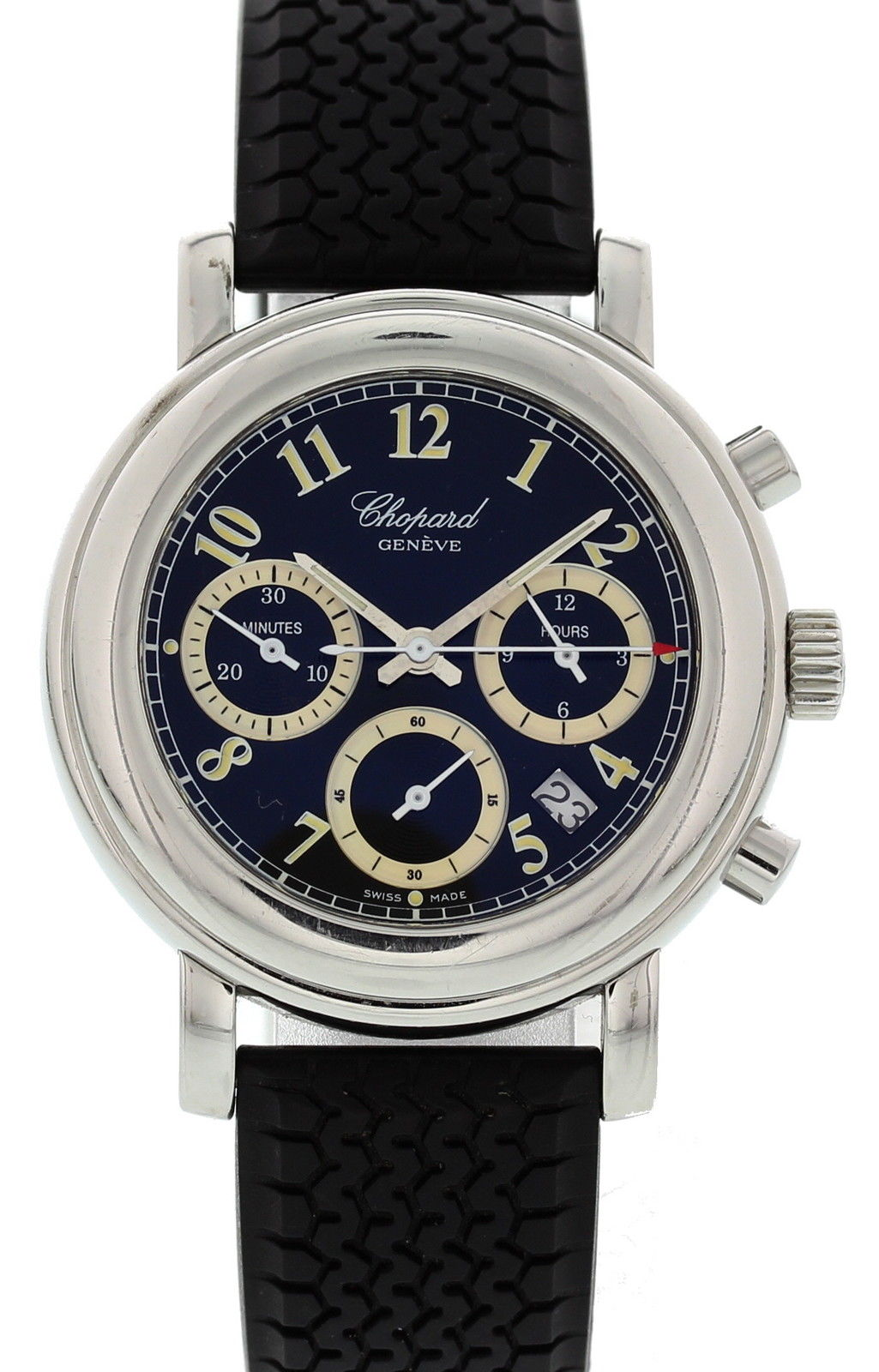 """Image of """"Chopard Mille Miglia 12/8344 Stainless Steel & Rubber Quartz 33mm"""""""