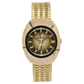 Rado Balboa Date Gold Plated Brown Gradation Dial Automatic 35mm Men's Watch
