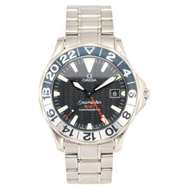Omega Seamaster 2536.50 Stainless Steel with Black Dial 41mm Mens Watch