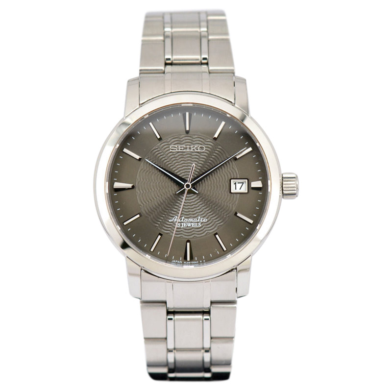 """Image of """"Seiko Sara003 Stainless Steel Automatic 38mm Mens Watch"""""""