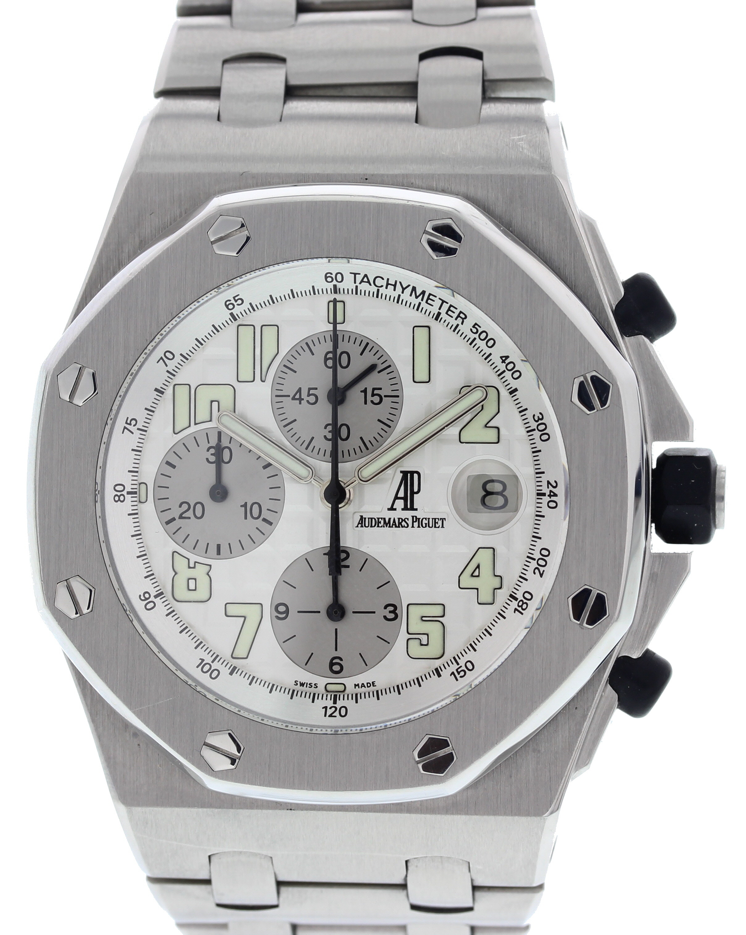 "Image of ""Audemars Piguet Royal Oak Stainless Steel Automatic 44mm Mens Watch"""
