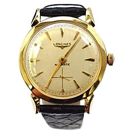 Longines 14K Yellow Gold Dress 33mm Mens Vintage Watch