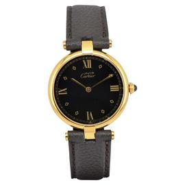 Cartier Vermeil 590003 Gold Plated 30mm Unisex Watch