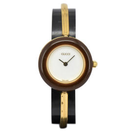 Gucci 11/12.2 Gold Plated 26mm Womens Watch