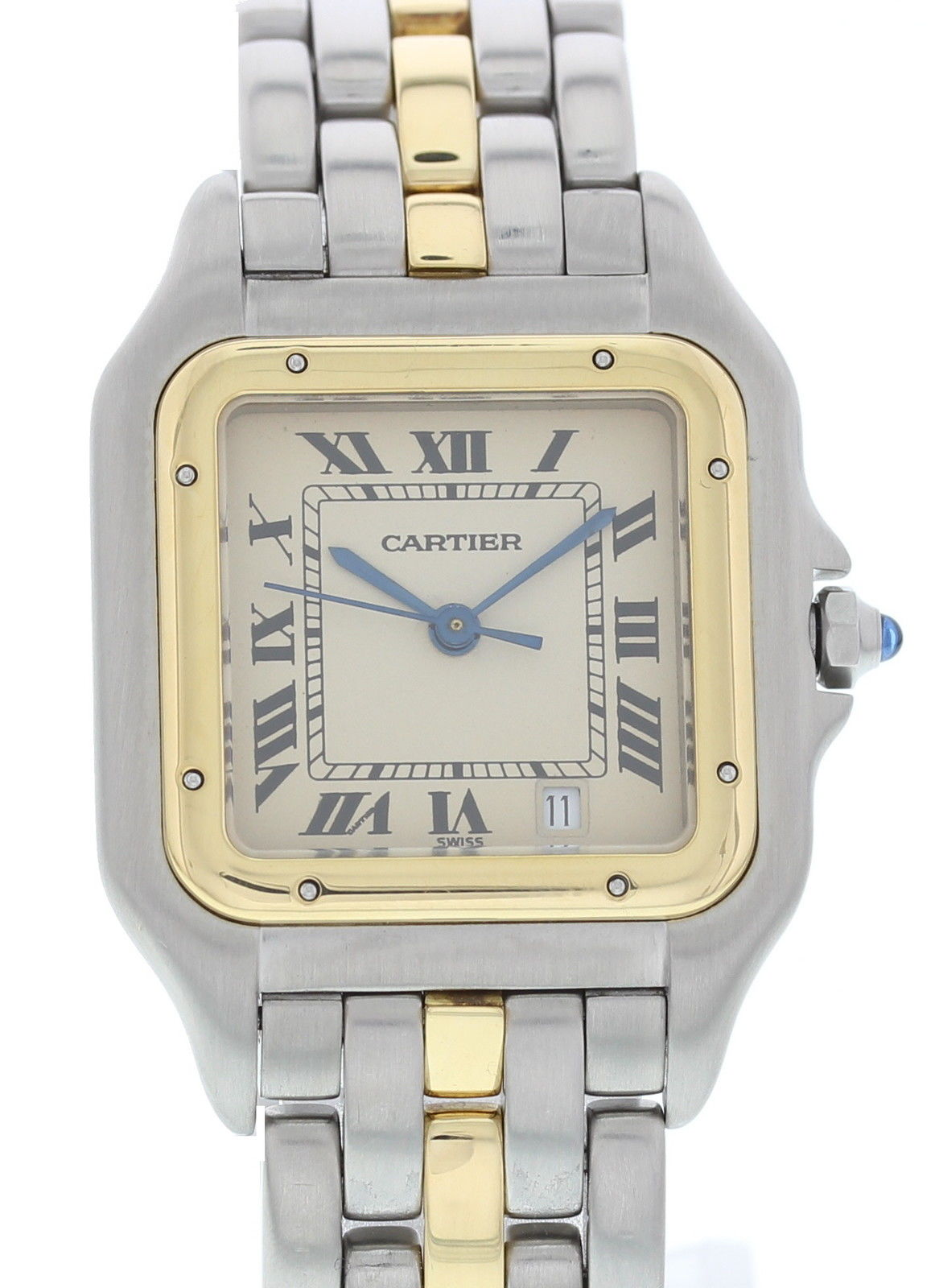 "Image of ""Cartier Panthere 18K Yellow Gold & Stainless Steel Quartz 27mm Unisex"""
