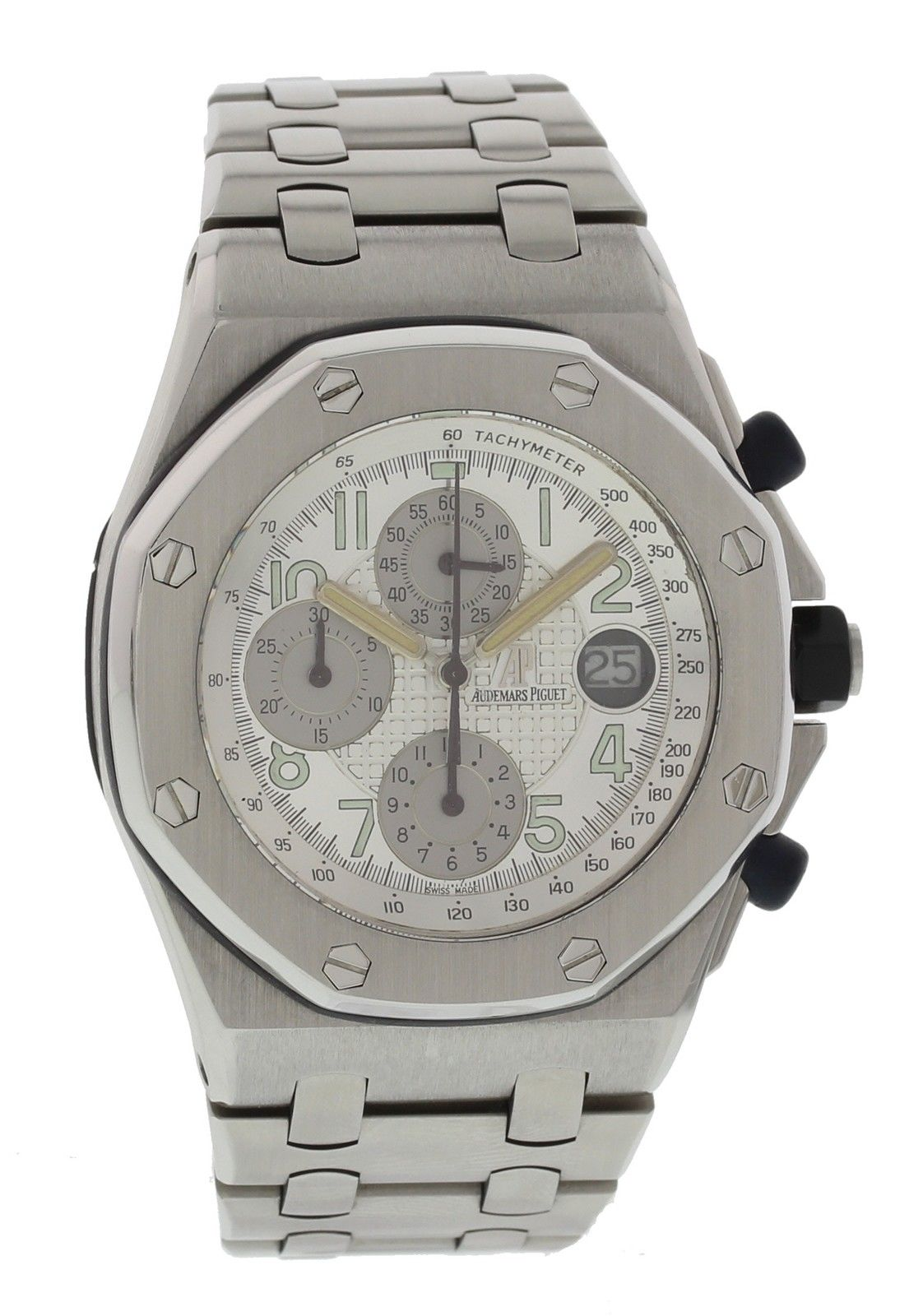 "Image of ""Audemars Piguet Royal Oak Off Shore Stainless Steel Silver Dial"""
