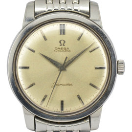 Omega Seamaster Staineless Steel Silver Dial Automatic 36mm Mens Watch