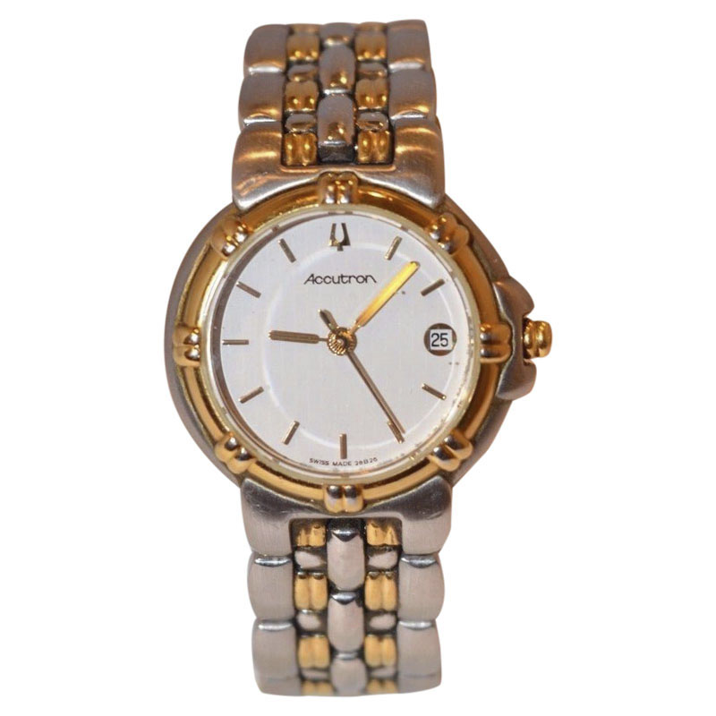 """Image of """"Bulova Accutron 28B26 Stainless Steel Casual 25mm Womens Watch"""""""
