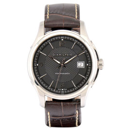 Hamilton Jazzmaster Viewmatic H325151 Stainless Steel / Leather 41.5mm Mens Watch