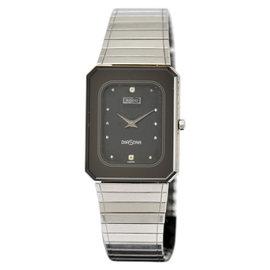 Rado Dia Star 135.1014.3 Stainless Steel Black Diamond Dial Quartz 24mm Men's Watch