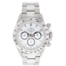 Rolex Daytona 16520 Stainless Steel White Dial Automatic 40mm Mens Watch