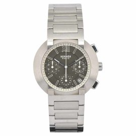 Hermes NO1.910 Chronograph Stainless Steel 38.5mm Mens Watch