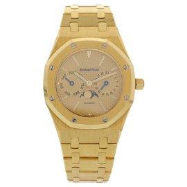 Audemars Piguet Royal Oak 25594BA.O.0477.BA.01 18K Yellow Gold Gold Dial Automatic 36mm Mens Watch