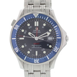 Omega Seamaster GMT 2535.80 Stainless Steel Automatic 41mm Mens Watch