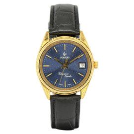 Rado Elegance Gold Plated / Leather Vintage 35mm Mens Watch