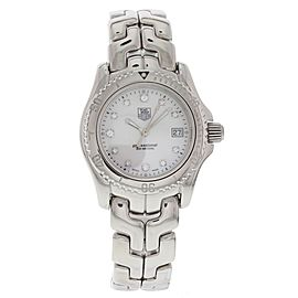Tag Heuer Link WT1318 Stainless Steel with Mother-of-Pearl Diamond 30mm Womens Watch