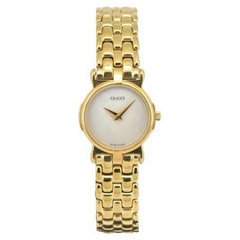 Gucci 3400L Gold Plated 22mm Womens Watch