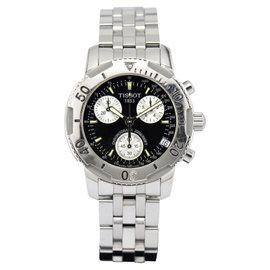 Tissot Chronograph Diver T17.1.486.53 Stainless Steel Quartz 40mm Mens Watch