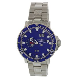 Ulysse Nardin Marine 333-77 Stainless Steel Automatic 43mm Mens Watch