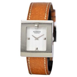 Hermes BE1.210 Stainless Steel / Leather 26mm Womens Watch