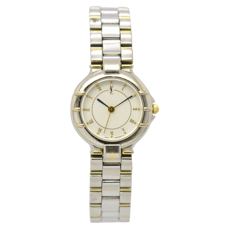 "Image of ""Yves Saint Laurent 4630-E63468Y Stainless Steel / Gold Plated 23mm"""