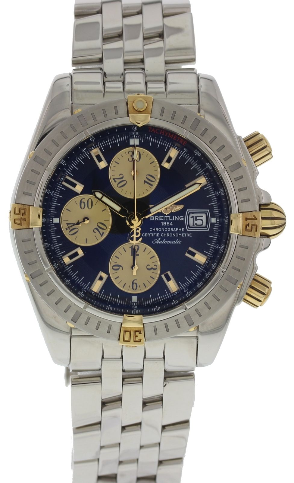 "Image of ""Breitling Chronomat Evolution B13356 Stainless Steel Automatic 44mm"""
