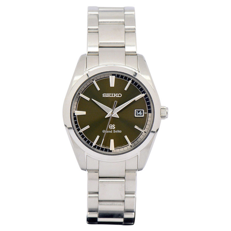 "Image of ""Seiko Grand Seiko Sbgx073 Stainless Steel Quartz 37mm Mens Watch"""