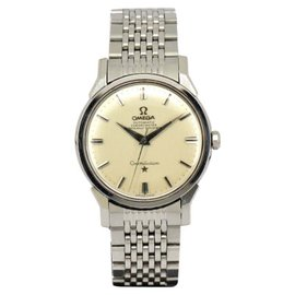 Omega Constellation Chronometer Stainless Steel Automatic 34mm Mens Watch