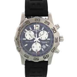 Breitling Colt Chronograph A73387 Stainless Steel Quartz 43mm Mens Watch