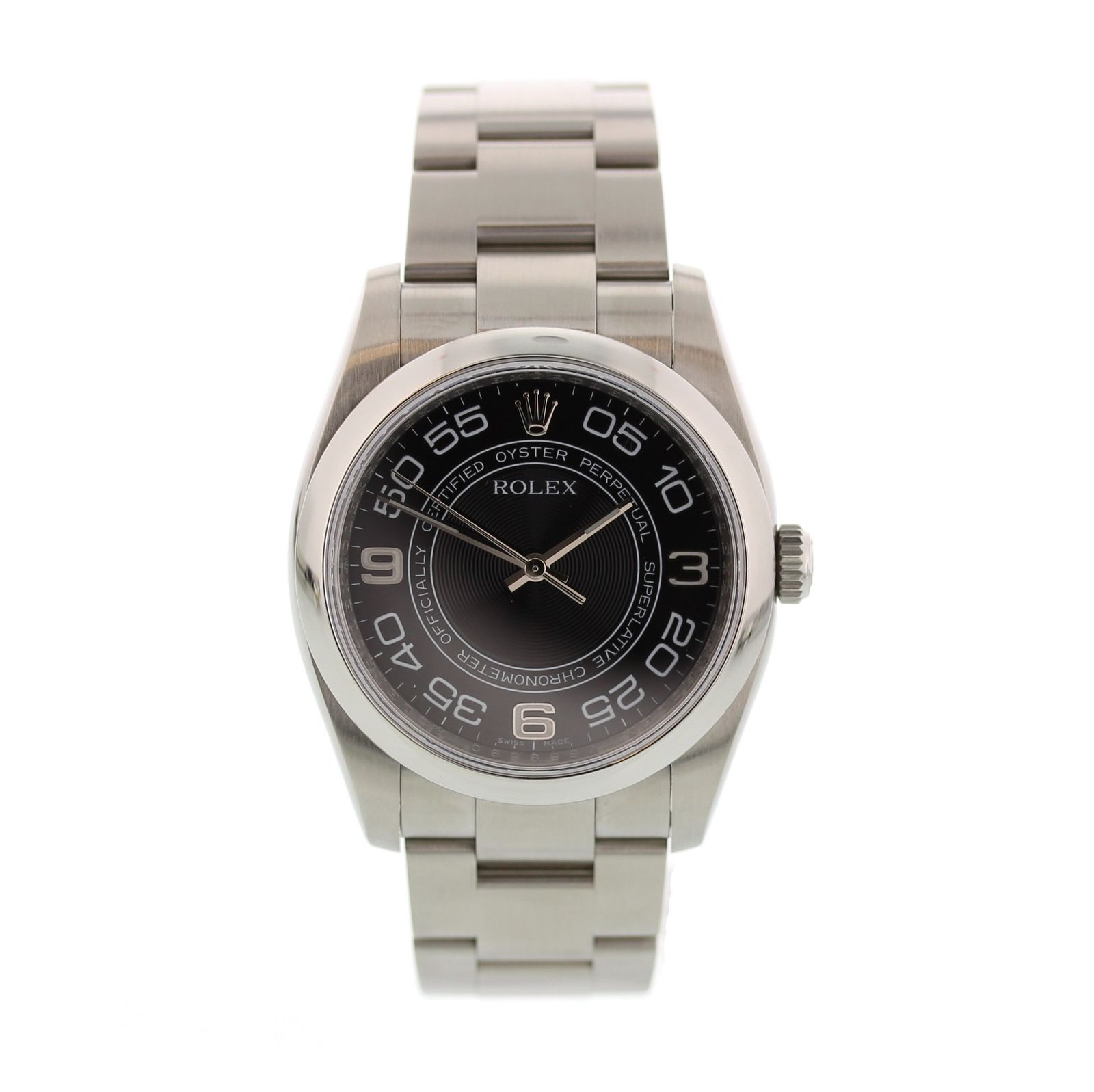 """Image of """"Rolex Oyster Perpetual 116000 Stainless Steel Black Dial Automatic"""""""